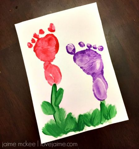 footprint flowers